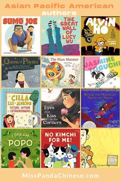 Asian Pacific American Authors | Diverse Books for Kids American Born Chinese, Asian American, Chinese Festival, Cultural Identity, Rhyming Words, Global Citizen, Girls Dream, Little Sisters, Great Books