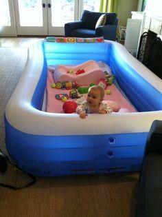 Trucos para niños que necesitan un espacio delimitado para jugar (bueno, los que lo necesitan son los padres).