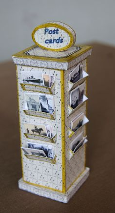 """""""Les Petits Papiers"""". Card display with tutorial"""