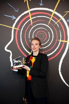 Camille Henrot premiata con il Leone d'argento alla 55. Biennale d'Arte di venezia. Photo Italo Rondinella