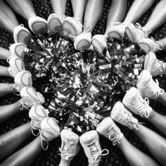 ★☯★ Cheerleading Foot #Heart - Cutest #wedding photo idea: adorable wedding party picture of #bride #groom bridemaids & groommen ★☯★  #OMG #Goodies #Stuff #weird #bizarre #Strange #Odd #unusual #Fun #Funny #amazing #inspirational #inspiration #tips #Trick