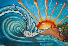 surf art - Google Search