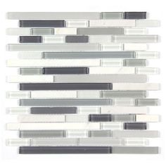 All Marble Mosaic Glass and Stone blend Random Strip 12 x 12 Mosaic Tile Mag-001-ST from http://AllMarbleTiles.com