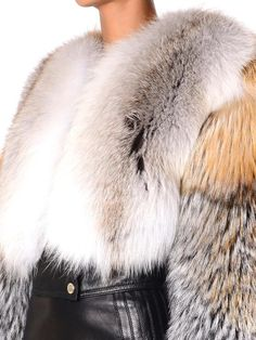 Givenchy Cropped fur jacket
