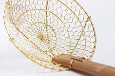 Шумовка - паук ручной работы (Zhao li)