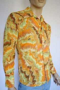 Vintage 1970's Men's PACIFIC ISLE PsYcHeDeLiC by ElectricLadyland1