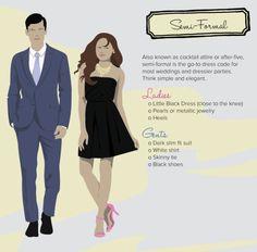 2140a53c647d decoding dress code semi-formal Semi Formal Dresses For Wedding