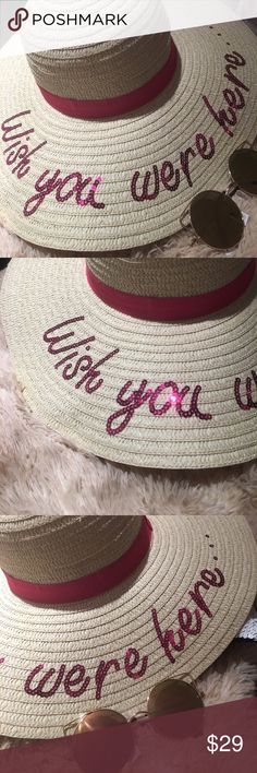 Wish you were here.... Brand New Boutique Quality Absolutely Stunning Summer essentials. If you have any questions please don't hesitate to ask ⭐️ Accessories Hats