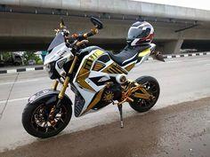 Sidecar, Honda Grom Custom, Grom Bike, Honda Scooters, Bike Builder, Mini Bike, Custom Motorcycles, Bike Life, Sport Bikes