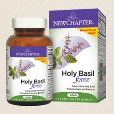 holy basil extract for natural stress relief