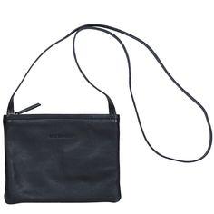 Pikkuserkku laukku, musta nahka