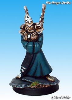 WARHAMMER 40,000 - Eldar Farseer of the Alaitoc Craftworld - Converted