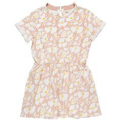 f62e68f9c2c Stella McCartney Kids  Elena  Drop Waist Organic Cotton Dress (Toddler Girls