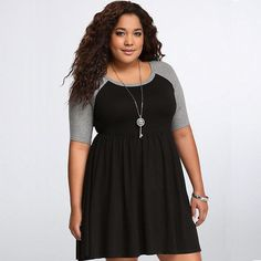 - Cool casual plus size stylish dress for the modern woman - Edgy design offers a modern stylish look - Perfect for special occasions or parties - Made from high quality material