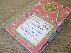 how to set up a prayer journal. Ive never actually heard of this. Its a nice idea