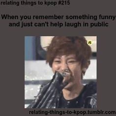 Kpop | Momentos Divertidos | Cuando alguien te recuerda algo divertido y comienza a reír