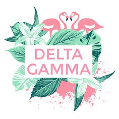 Delta Gamma Tropics Design by College Hill Custom Threads sorority and fraternity greek apparel and products! Customize this design for your chapter today.   Custom Greek Apparel, Sorority Tee Shirts, Sorority Shirt Designs,  Sorority Shirt Ideas,  Greek Life,  Sorority Sisterhood, DG, Philanthropy.