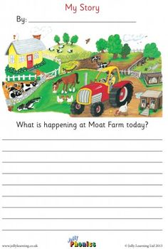 Free resource bank with handy videos and teaching tips for Jolly Phonics & Grammar plus Jolly Music. Creative Writing Worksheets, English Creative Writing, Writing Practice Worksheets, Creative Writing Tips, Reading Comprehension Worksheets, 1st Grade Worksheets, English Writing Skills, Kindergarten Worksheets, Lkg Worksheets