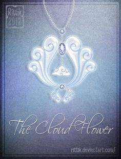 Amulet - The Cloud Flower by Rittik on DeviantArt Amulet - The Cloud Flower by . - Amulet – The Cloud Flower by Rittik on DeviantArt Amulet – The Cloud Flower by Rittik on Devia - Anime Weapons, Fantasy Weapons, Fantasy Jewelry, Fantasy Art, Magical Jewelry, Anime Princess, Weapon Concept Art, Magic Art, Anime Outfits