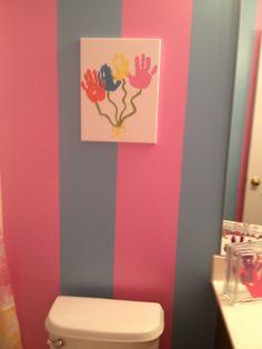 Artwork for the kids bathroom