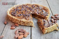 RAW čokoládový koláč Raw Cake, Raw Vegan, Healthy Desserts, Banana Bread, Meal Planning, French Toast, Food And Drink, Vegetarian, Cookies