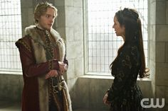"Reign -- ""Tasting Revenge"" -- Image Number: RE216a_0184.jpg -- Pictured (L-R): Toby Regbo as King Francis II and Adelaide Kane as Mary, Queen of Scotland and France -- Photo: Sven Frenzel/The CW -- © 2015 The CW Network, LLC. All rights reservedpn"