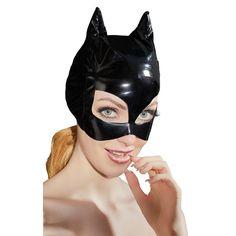 Lak Masker Met Kattenoortjes Laat je van je meest uitdagende kant zien met dit spannende masker van Black Level. Het zwarte masker heeft grote openingen rondom de ogen en puntige kattenoortjes. Draag het in combinatie met spannende kleding of mooie lingerie en speel een spannend spel! Vinyl Clothing, Save The Queen, Black Mask, Stretchy Material, Lingerie Set, Cat Ears, Kinky, Sexy, Perfect Fit