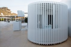 """Pop-Up Concept Store - LoT Office for Architecture- """"For Guilty Beach in Mykonos…"""