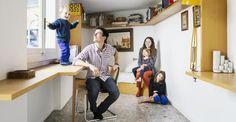 Family life: the house of Giacomo Moor // La casa di Giacomo Moor.