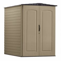 Rubbermaid Plastic Large Outdoor Storage Shed Bike Storage Solutions, Kitchen Storage Solutions, Diy Kitchen Storage, Ikea Storage, Bicycle Storage Shed, Building A Storage Shed, Garden Tool Storage, Bicycle Rack, Bmx Bicycle