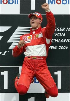 Schumacher is back from the dead. Whoopity Fuckin' do.
