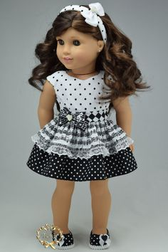 American girl doll clothes Special Occasion OOAK by PurpleRoseNY