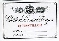 collection d'étiquettes de vins et alcools la plus grande du Web Pierrevin