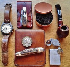 It's all about tradition, this is pretty much what my father and his father carried every day.