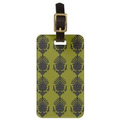 India Block Print Tag For Luggage $11.95