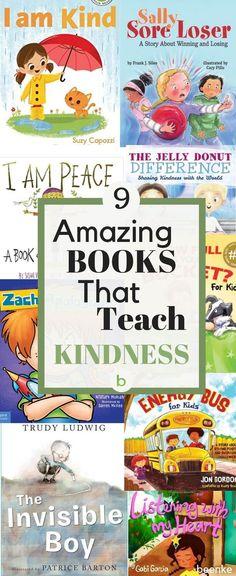 Amazing Books That Teach Kindness To Children | Beenke