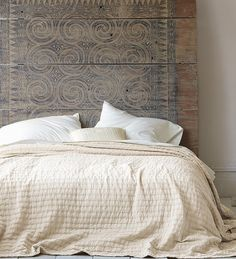 rippled cotton coverlet, a gift for the one who has great taste in bedding