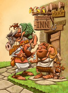 Bible Stories by Dennis Jones, via Behance