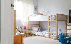 Maternidad: 10 ideas para personalizar Kura, la cama más versátil de Ikea.