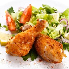 Simple Comfort Food: Breaded & Baked Chicken Drumsticks - Follow #SightApp and save an entire article or recipe by 1 screenshot (Check How: https://itunes.apple.com/us/app/sight-save-articles-news-recipes/id886107929?mt=8