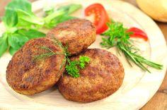 Hamburger de Grão de Bico e Arroz Integral