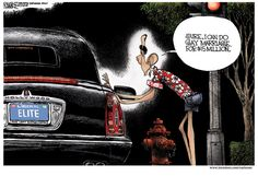 Michael Ramirez on President Obama's gay marriage flip-flop and the Hollywood connection