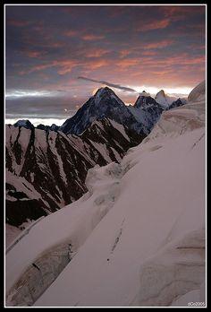 Gasherbrum IV . Karakoram range . Pakistan
