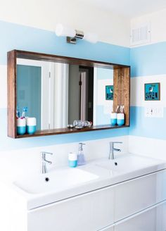 fine 44 Fabulous DIY Mirrors You Can Easily Make Yourself at Home