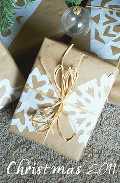 Make A Beautiful Doily Snowflake Garland!   One Good Thing by Jillee
