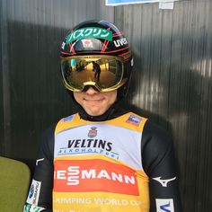 i cant he is the cutest ✨ Ski Jumping, Bicycle Helmet, World Cup, Athletes, Comebacks, Skiing, Sky, Japan, Cute