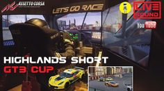 Assetto Corsa  [MotionSIM] - Highlands SHORT GT3 CUP  [LIVE SOUND]