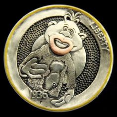 The Engraver's Cafe - The World's Largest Hand Engraving Community - Latest project Old Coins, Rare Coins, Hobo Nickel, Coin Art, Coin Collecting, Hand Engraving, Cool Artwork, Dog Tags, Jeff Dunham