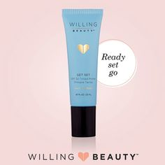 Willing Beauty's morning SPF30 Tinted Primer! <3 Uses light-reflecting pigments to create a glow <3 Mineral sunscreen offers broad-spectrum protection against the sun's harmful rays <3 Universal color that blends in and evens out skin tone instantly <3 Can be worn alone or under makeup as a primer www.AmazinglyBeautiful.WillingBeauty.com