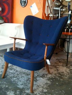 Arm Chair - Danish High Back - Lorgan's by TheTravellingBug, via Flickr